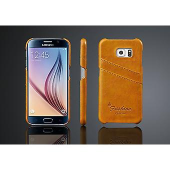Wallet Case/Shell Samsung Galaxy S6 with 2pcs card holder