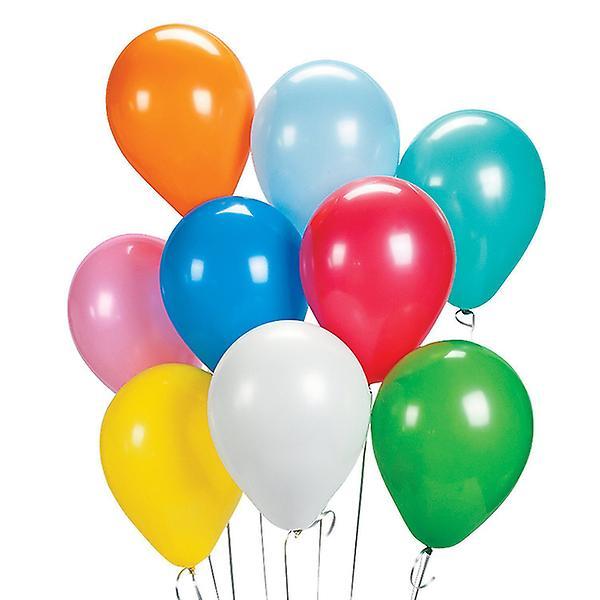 Ballonger blandade färger 25-pack - Latex (naturgummi).