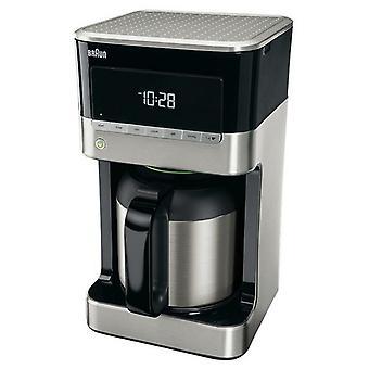 Braun Kaffee Maker 1,5 L 1000W inländischen Hause KF7125BK grau/schwarz