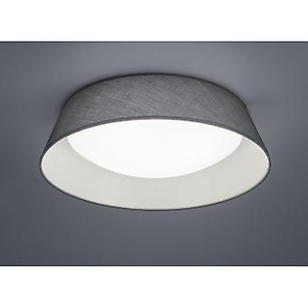 Trio belysning Ponts Modern grå Tyg taklampa