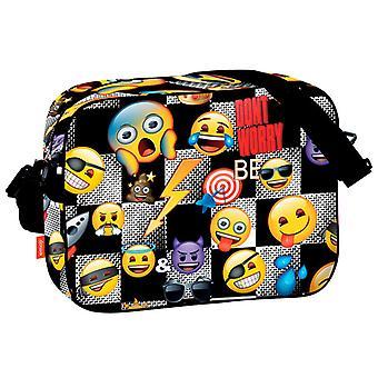 Emoji Icon Shoulder Bag satchel 38x29x9cm