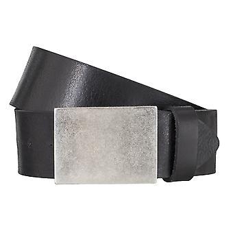 BERND GÖTZ belts men's belts leather belt Buffalo leather black 4846