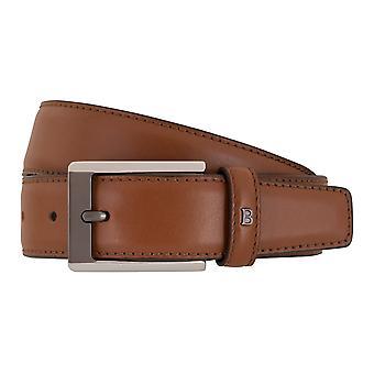 MIGUEL BELLIDO clasico belts men's belts leather belt Cognac 7714