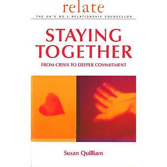 Riguardano la Guida di stare insieme - dalla crisi alla più profondo impegno da