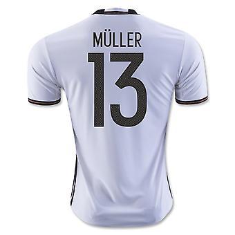 2016-2017 Tyskland hjem skjorte (Muller 13) - barn