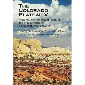 The Colorado Plateau V
