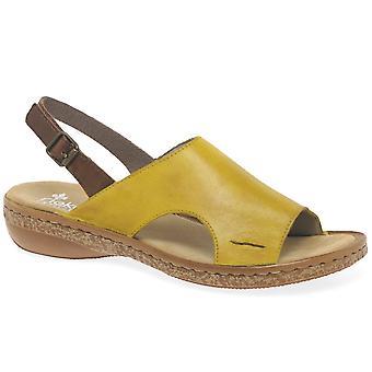 Rieker Amport Womens Sling tillbaka sandaler