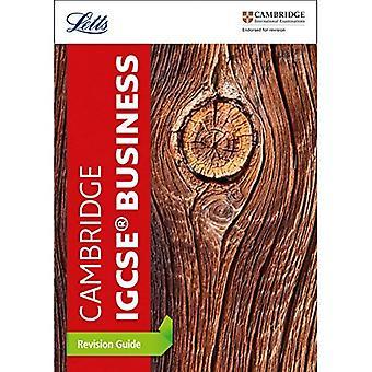 Cambridge IGCSE (TM) Business Studies Guide de révision (révision de IGCSE (TM) Letts Cambridge) (Letts Cambridge IGCSE (TM) révision)