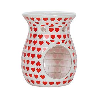 Aroma Red Heart Wax Melt Burner