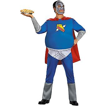 Homer Pie-Man Adult Plus Size Costume