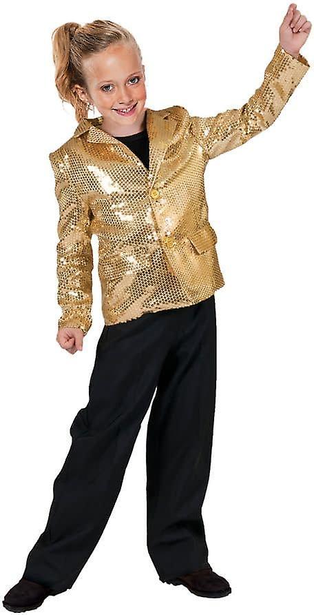 Guld Disco jacka barn