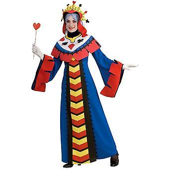 Karte-Königin Erwachsenen Kostüm
