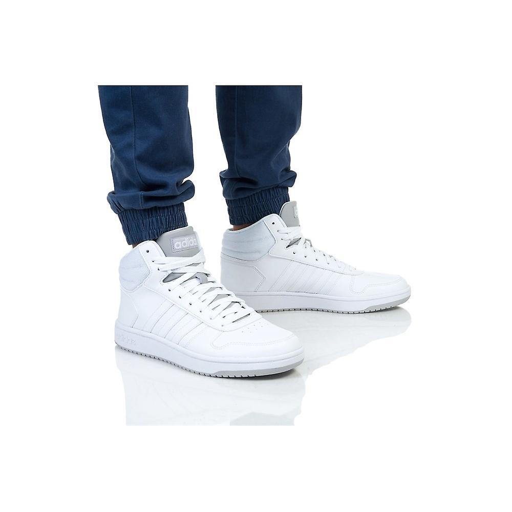 Adidas hoops 20 mid F34813 universell hele året menn sko - Spesiell rabatt