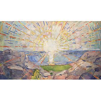 De zon, Edvard Munch, 60x35cm
