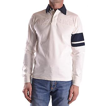 Woolrich Ezbc033009 Men's White Cotton Polo Shirt