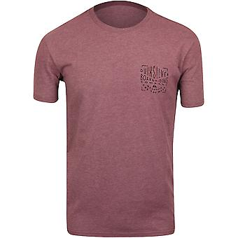 Quiksilver Mens Old City T-Shirt - Purple/Black