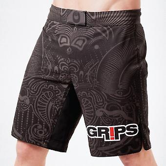 Griffe: Leichtathletik Mens Krieger Instinkt Kampf Shorts - schwarz