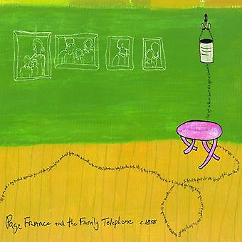 Page France - And the Family Telephone [CD] USA import