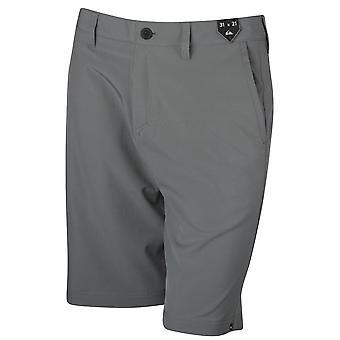 Quiksilver Mens solide wormsalamanders 21-inch Shorts - rustige schaduw Gray