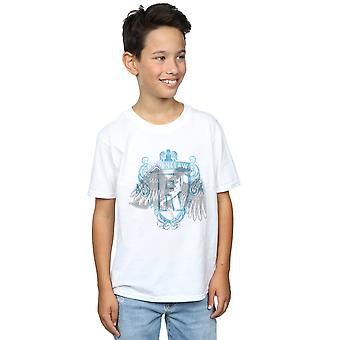 Harry Potter Boys Ravnklo Raven Crest T-skjorte