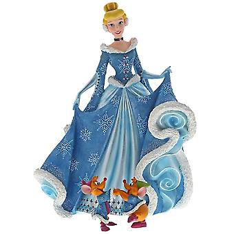 Disney Haute Couture Christmas Cinderella with Jaq and Gus Figurine