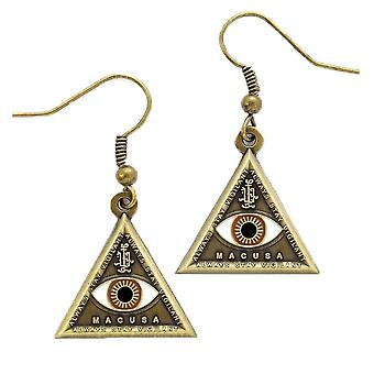 Fantastic Beasts and Where to Find Them Triangle Eye Earrings