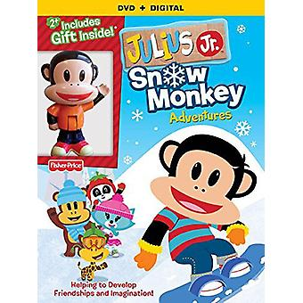 Julius Jr snø Monkey eventyr [DVD] USA importere