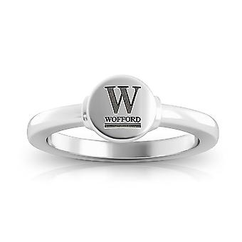 Wofford College Engraved Sterling Silver Signet Ring