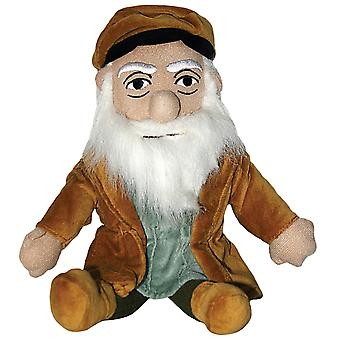 Plush - Little Thinker - Leonardo Da Vinci Soft Doll Toys Gifts Licensed New 0029