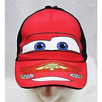 Baseball Cap - Disney - Cars Face Youth/Kids New 119680