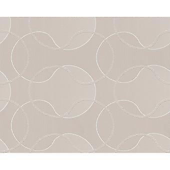 A.S. Creation AS Creation Geometric Pattern Circles Glitter Trail Motif Textured Wallpaper 953422