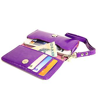 Wallet Case handtas iPhone SE/5S/5/5C/4S + polsband