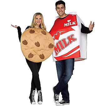 Lait de Costume couple avec Cookie