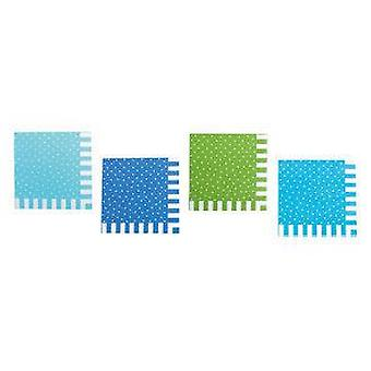 Jabadabado Blue Party Napkins (Babies and Children , Costumes)