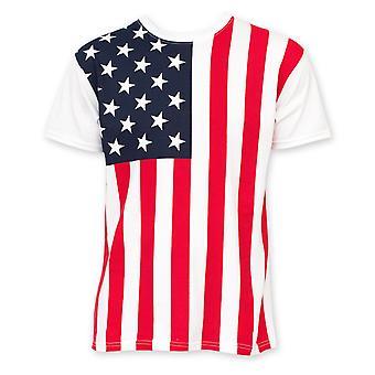 American Flag Men's Tee Shirt
