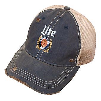 Miller Lite Retro marki Denim Trucker Hat