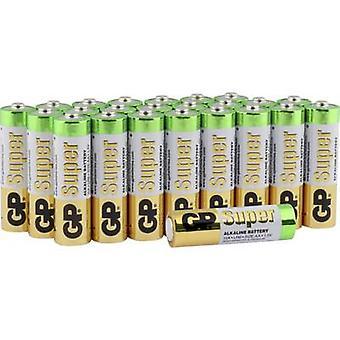 AA batterij alkali-mangaan GP Accu's Super 1,5 V 24 PC (s)