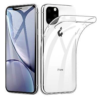 Ultratunn soft shell TPU iPhone 11 Pro Max doorschijnend