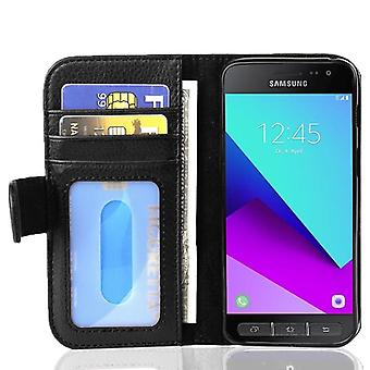 Case for Samsung Galaxy XCover 4 / XCover 4S Foldable Phone Case - Cover - with Stand Function and Card Slot