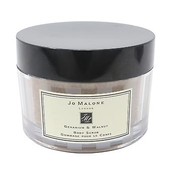 Jo Malone Geranium & Walnut Body Scrub  7oz/ml New In Box