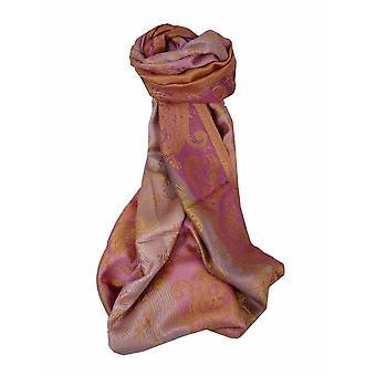 Mens Jamawar Premium Silk Scarf Pattern 5309 by Pashmina & Silk
