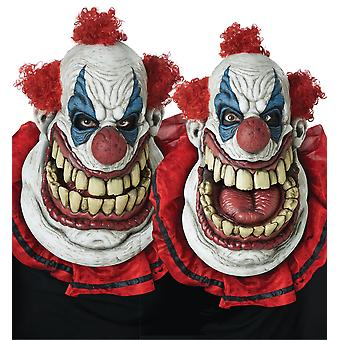 Fatty McClown Horror Clown Creepy Halloween Ani Motion Mens Costume Face Mask