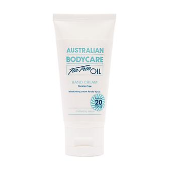 Australian Bodycare Hand Cream Moisturiser With Tea Tree Oil - 50ml