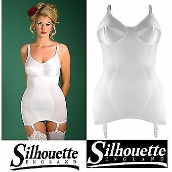 Silhouette undertøy ' corsetry Collection ' Madame ' X ' åpen Corselette, satin finish