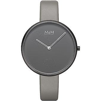 M & M Germany M11954-999 Flat Design Ladies Watch
