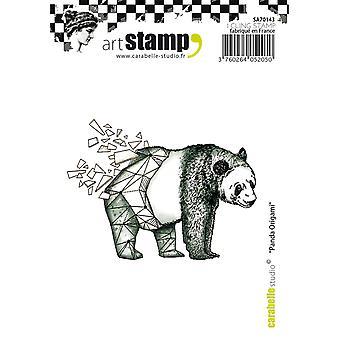 Carabelle Studio SA70143 A7 si aggrappano Stamp - Origami Panda