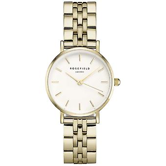 Rosefield small edit Quartz Analog Woman Watch with 26WSG-267 Stainless Steel Bracelet