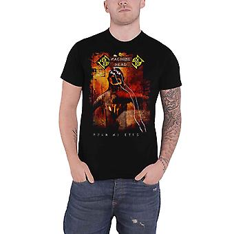Machine Head T Shirt Burn My Eyes Band Logo new Official Mens Black