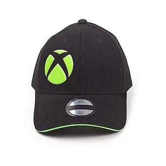 Microsoft Xbox Symbol Adjustable Cap Black Unisex Black/Green (BA786517XBX)