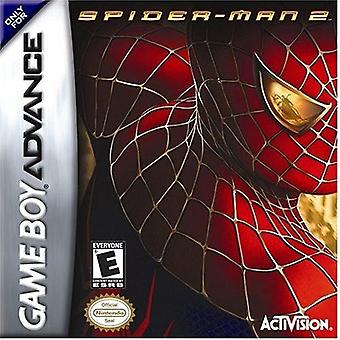Spider-Man 2 The Movie GBA Game (GameBoy Advance)